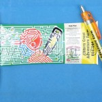 Roll out banner pens
